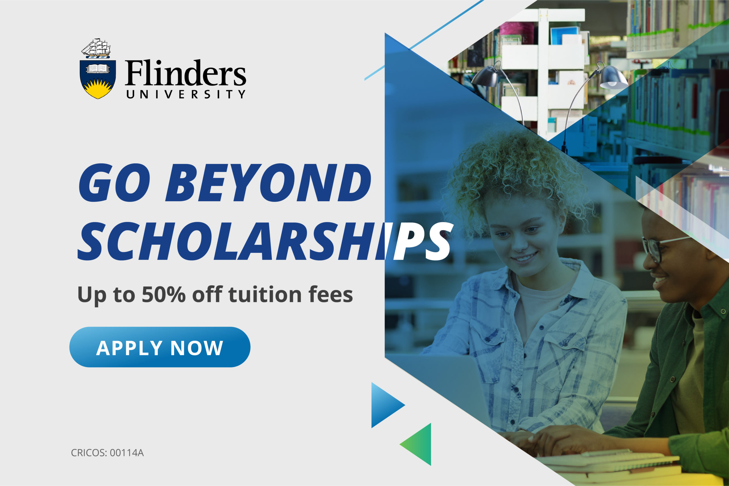 Flinders University Go Beyond Scholarships